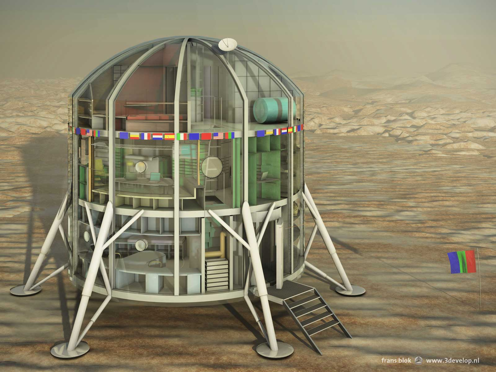 European Mars Analogue Research Station