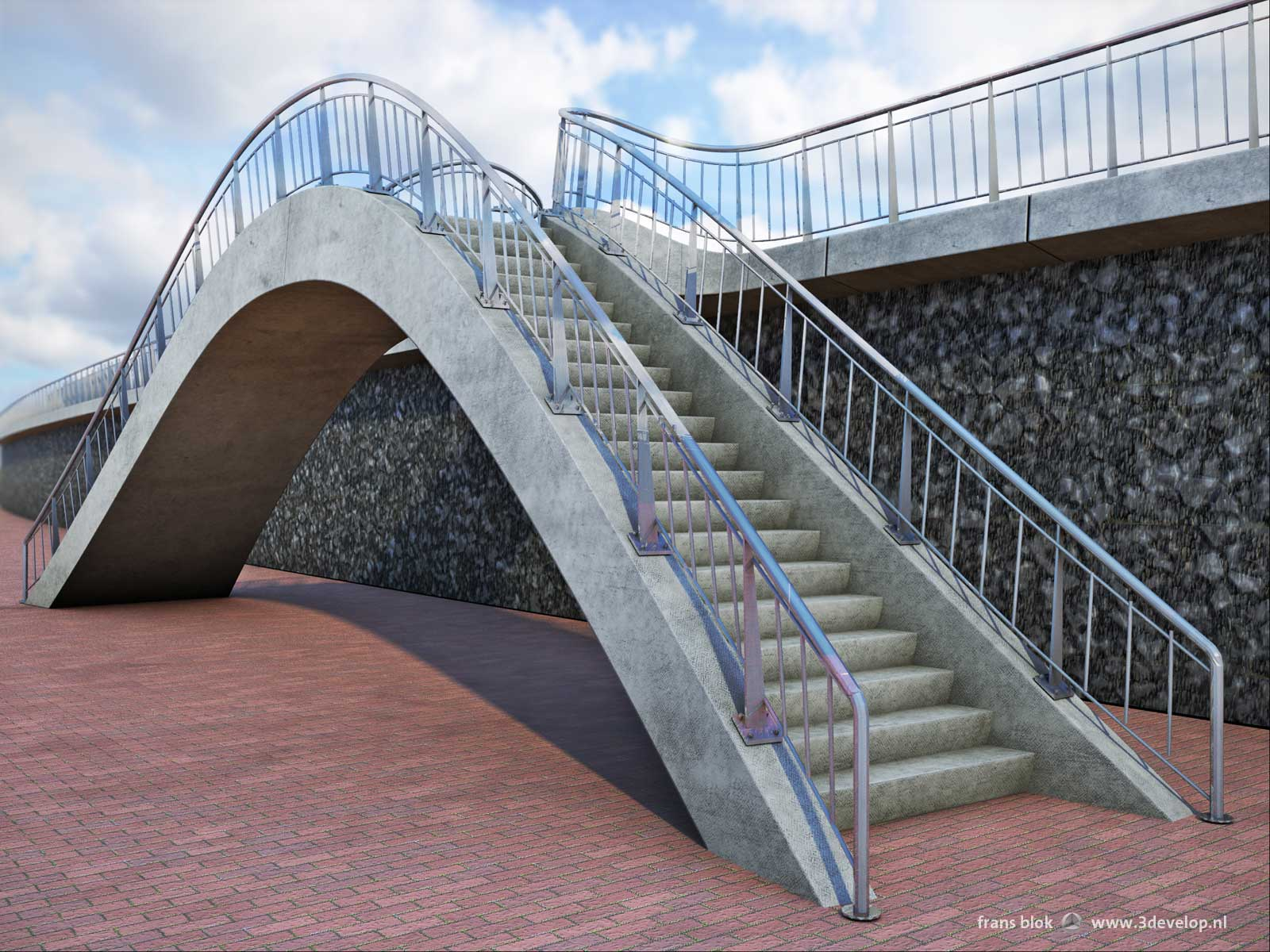 Sea barrier Harlingen - design: Royal HaskoningDHV