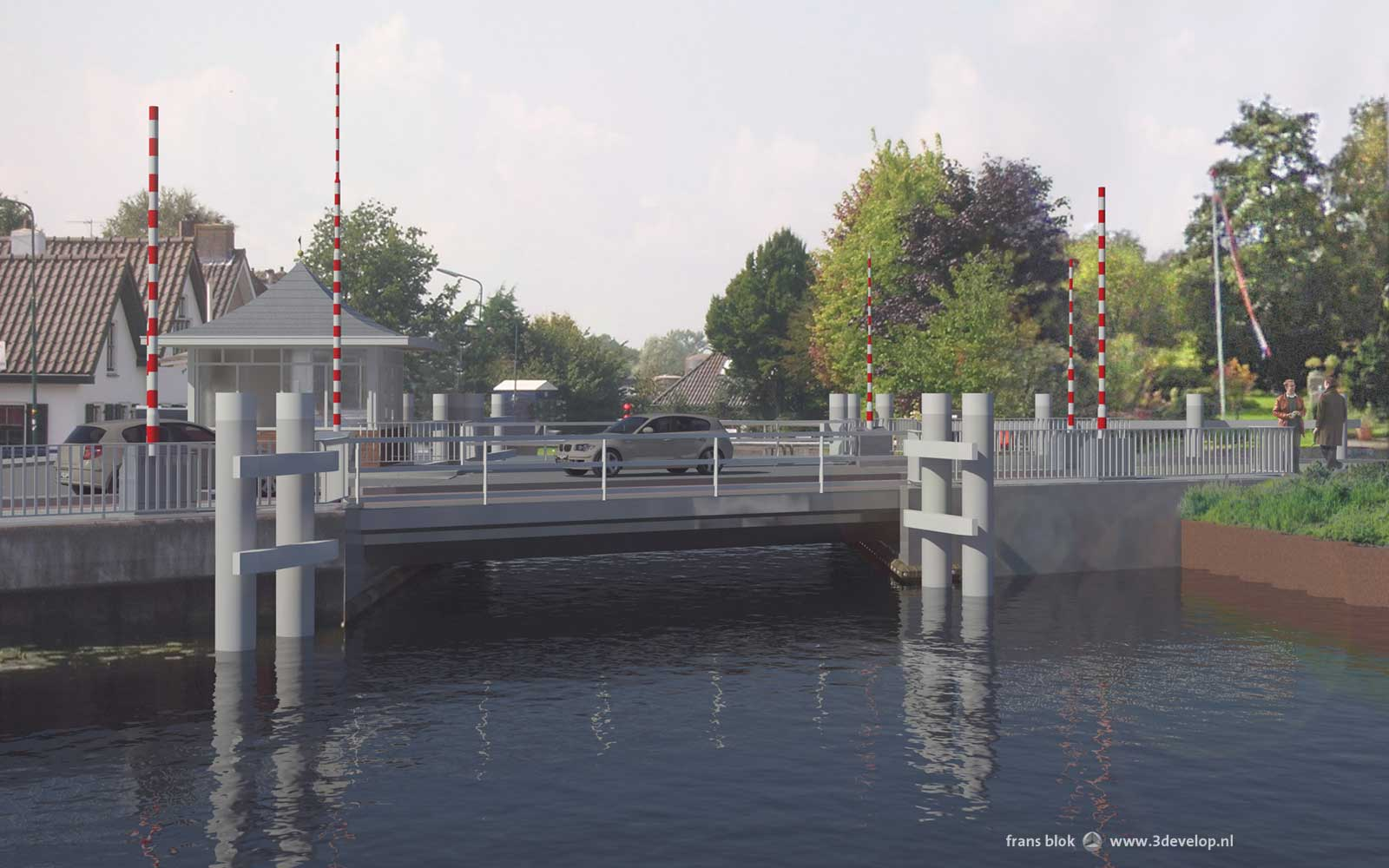 Kollenbridge, Woerdense Verlaat - design: Royal HaskoningDHV